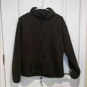 No Boundaries Large Olive Green Sweater Size Large